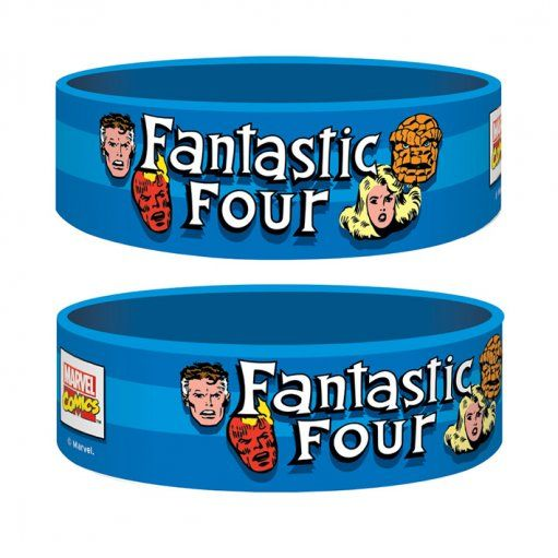 Fantastic Four Rubber / Silicone Wristband. Marvel