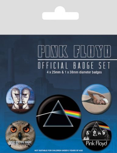 Pink Floyd Official Badge Pack