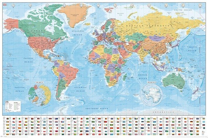 World map maxi poster geography logistics gumiabroncs Gallery